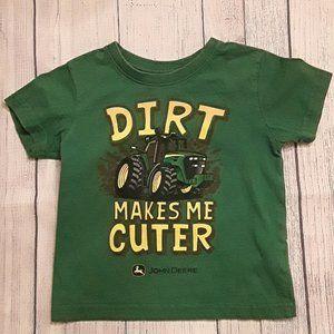 5/$25 JOHN DEERE Boys Shirt 2T